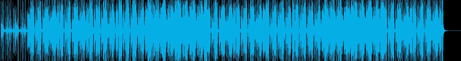 朗らかな休日を描いたいきいきポップスの再生済みの波形