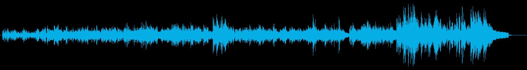 バッハのインベイジョン2番の再生済みの波形
