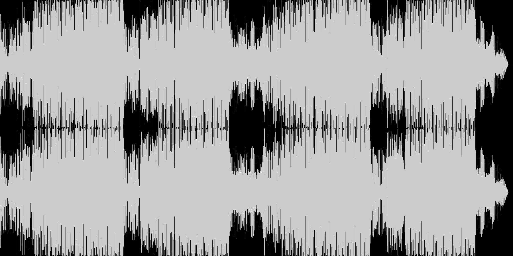 ちょっとお洒落なカフェBGMの未再生の波形