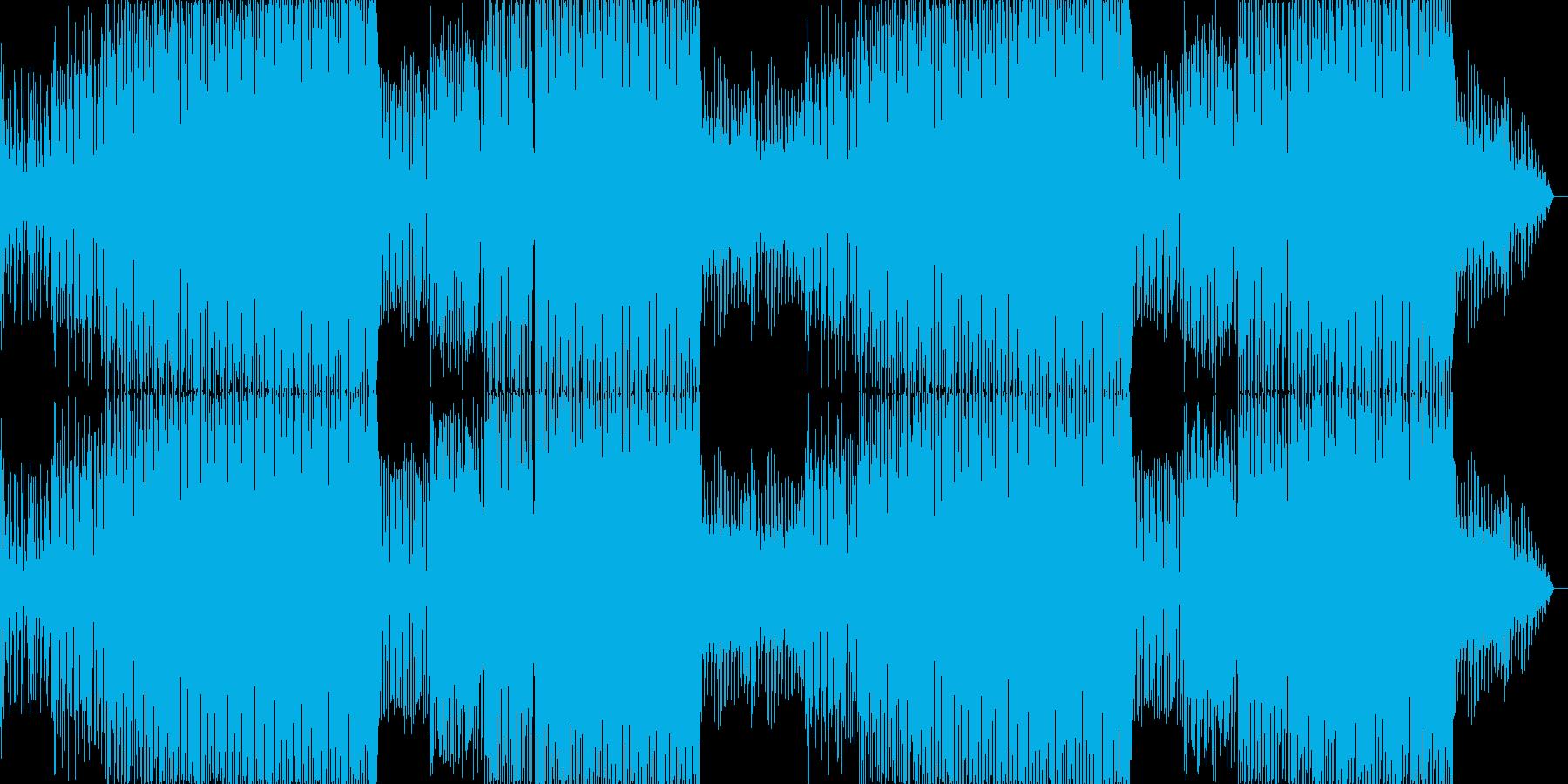 ちょっとお洒落なカフェBGMの再生済みの波形