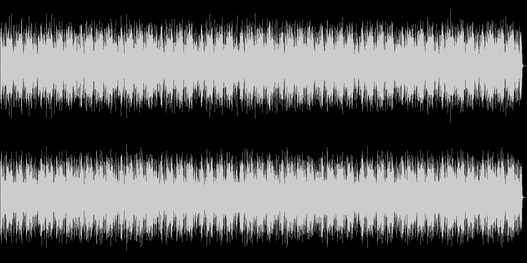 都会的でJazzyなピアノンベースの未再生の波形
