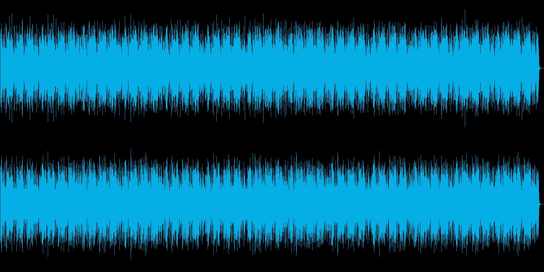 都会的でJazzyなピアノンベースの再生済みの波形