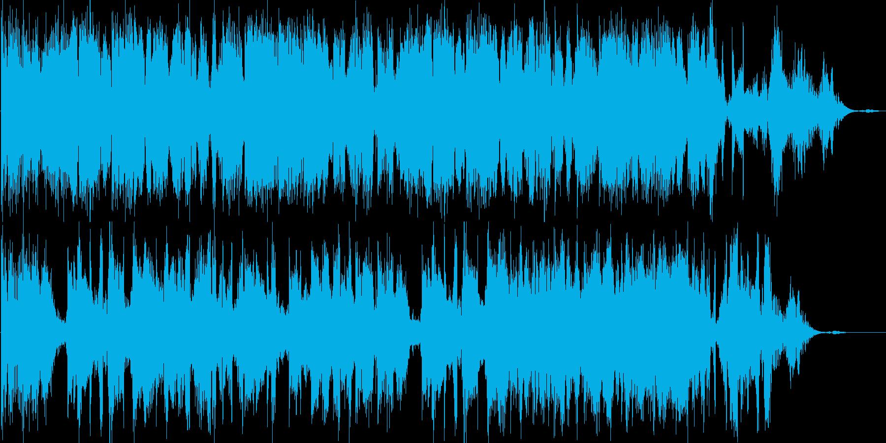 ジングル用。CM前風の再生済みの波形