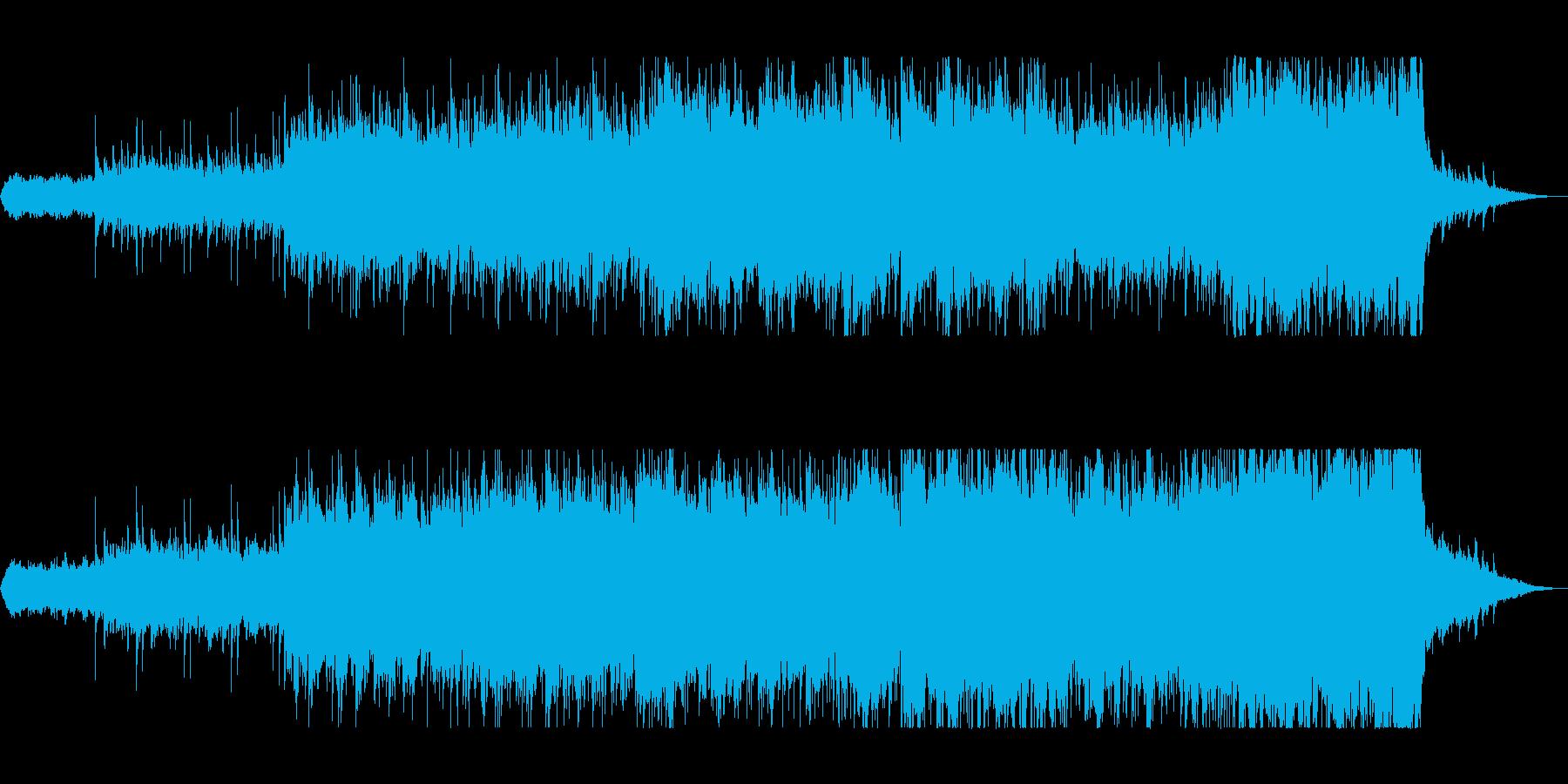 滑らかなピアノのストリングが美しい曲の再生済みの波形