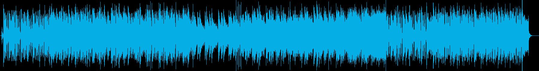 グラスハープを思わせるミディアムテンポの再生済みの波形