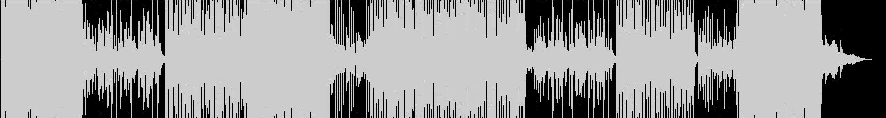 切ないメロのゆったりレガトンダンス楽曲の未再生の波形