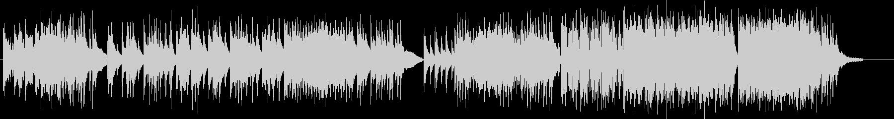 しっとり且つスケール感のあるピアノ曲の未再生の波形