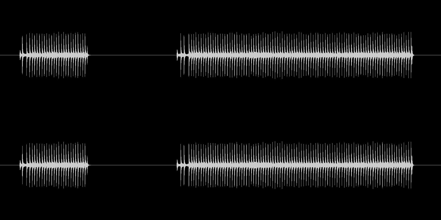 ゲーム、クイズ(ブー音)_002の未再生の波形