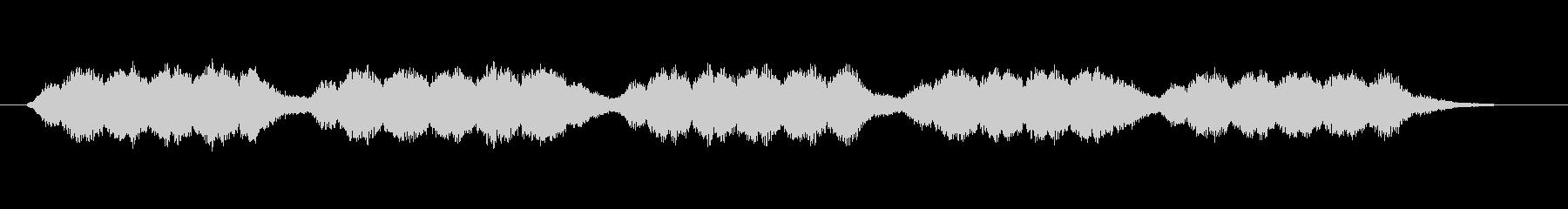 ブーン、グワワン(エンジン、モーター)の未再生の波形