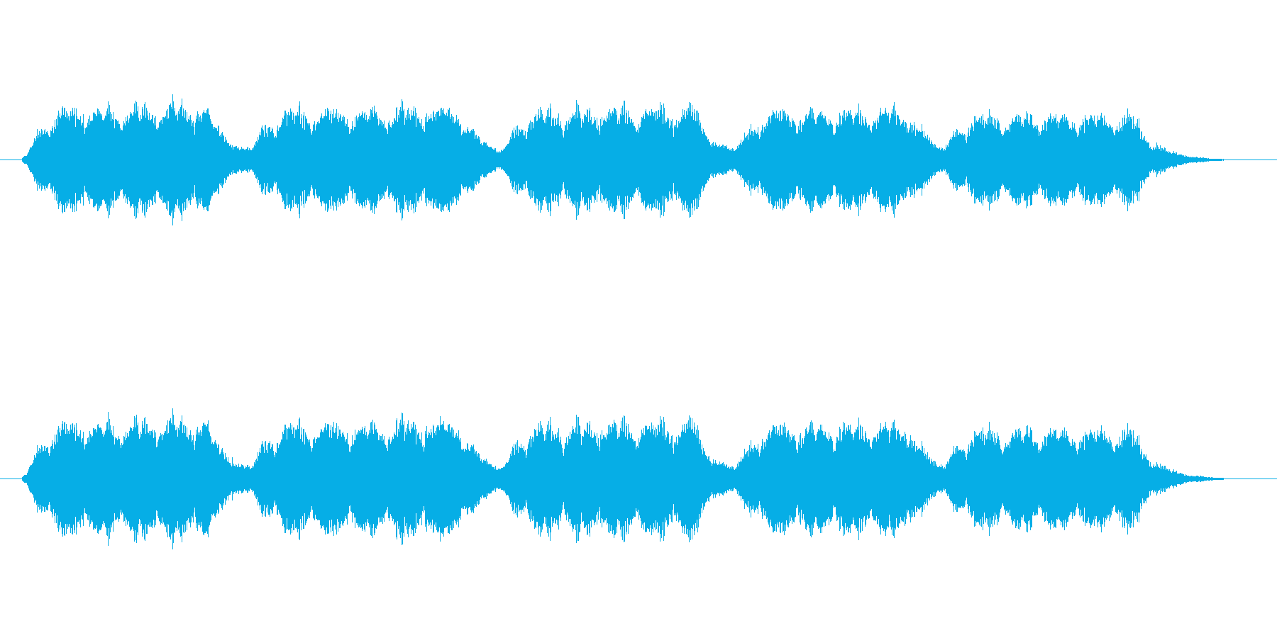 ブーン、グワワン(エンジン、モーター)の再生済みの波形