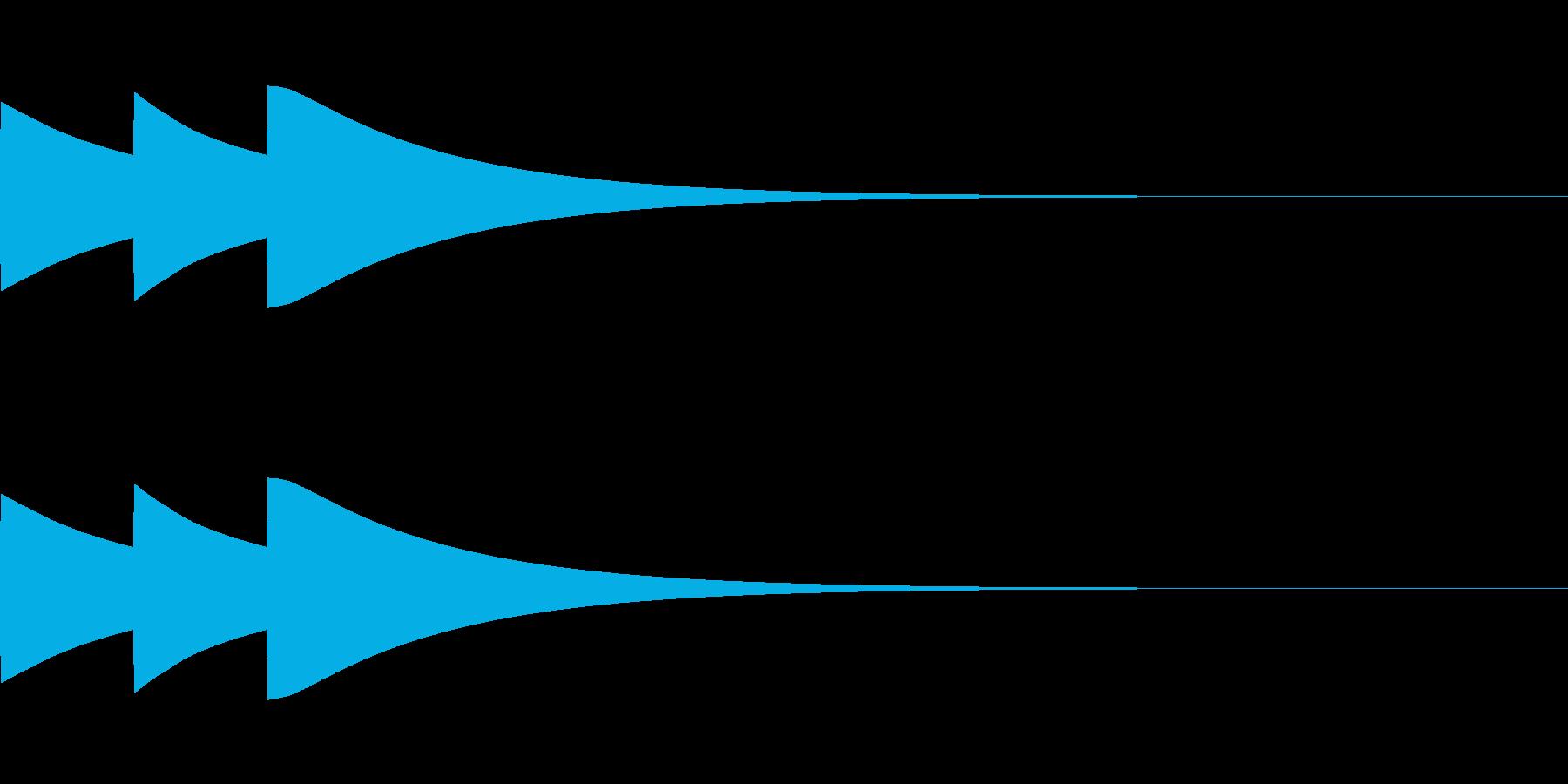ベル/ポポポン/システム/金属/3の再生済みの波形