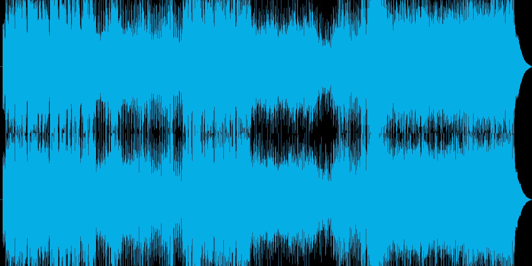 記憶喪失になって叫びを表現してます。の再生済みの波形