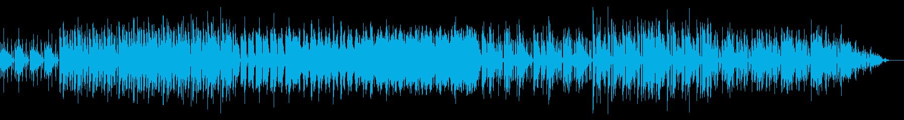 一定のノリで進むシンプルなテックハウスの再生済みの波形