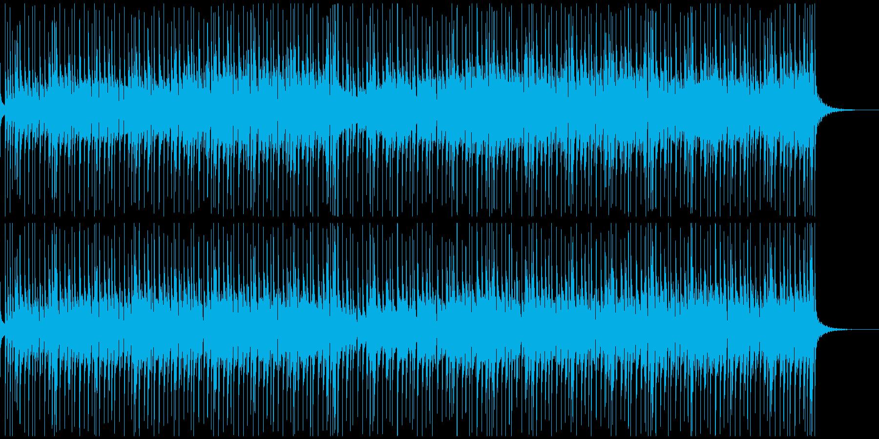 疾走感があるファンキーなフュージョン系の再生済みの波形
