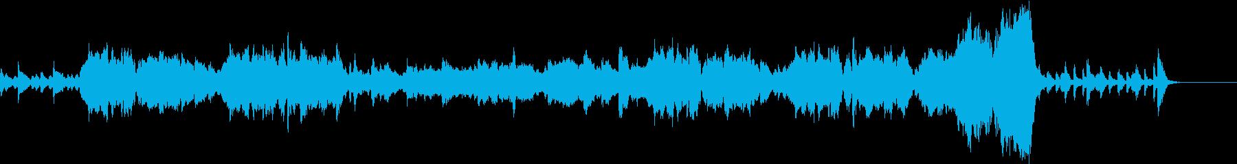 ファンタジー、RPGでよくある曲の再生済みの波形