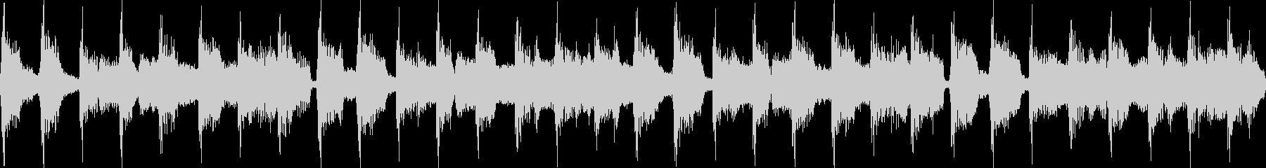 80年代のポップジングル_ループの未再生の波形