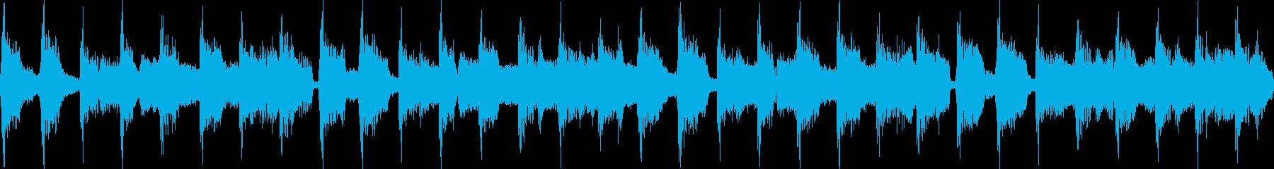 80年代のポップジングル_ループの再生済みの波形