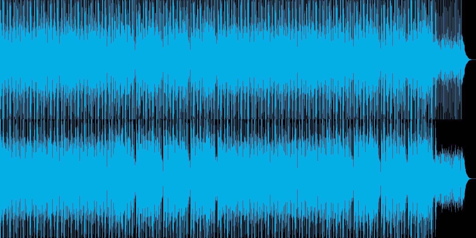 かわいい、ゆるい、コミカル-09の再生済みの波形