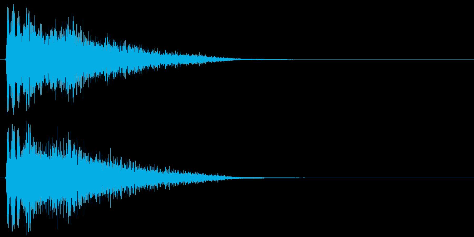 ボウンの再生済みの波形