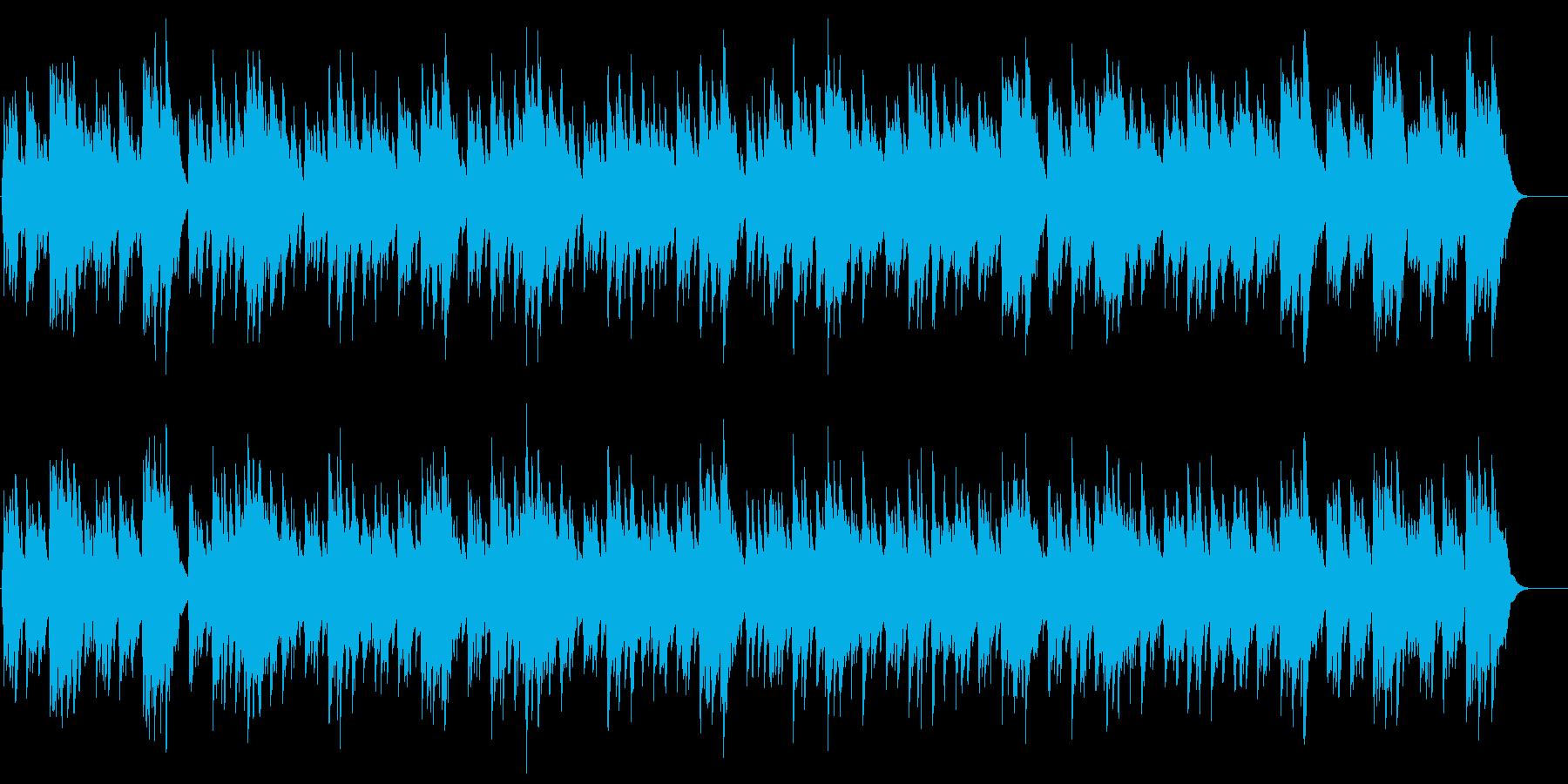 かたつむりの再生済みの波形