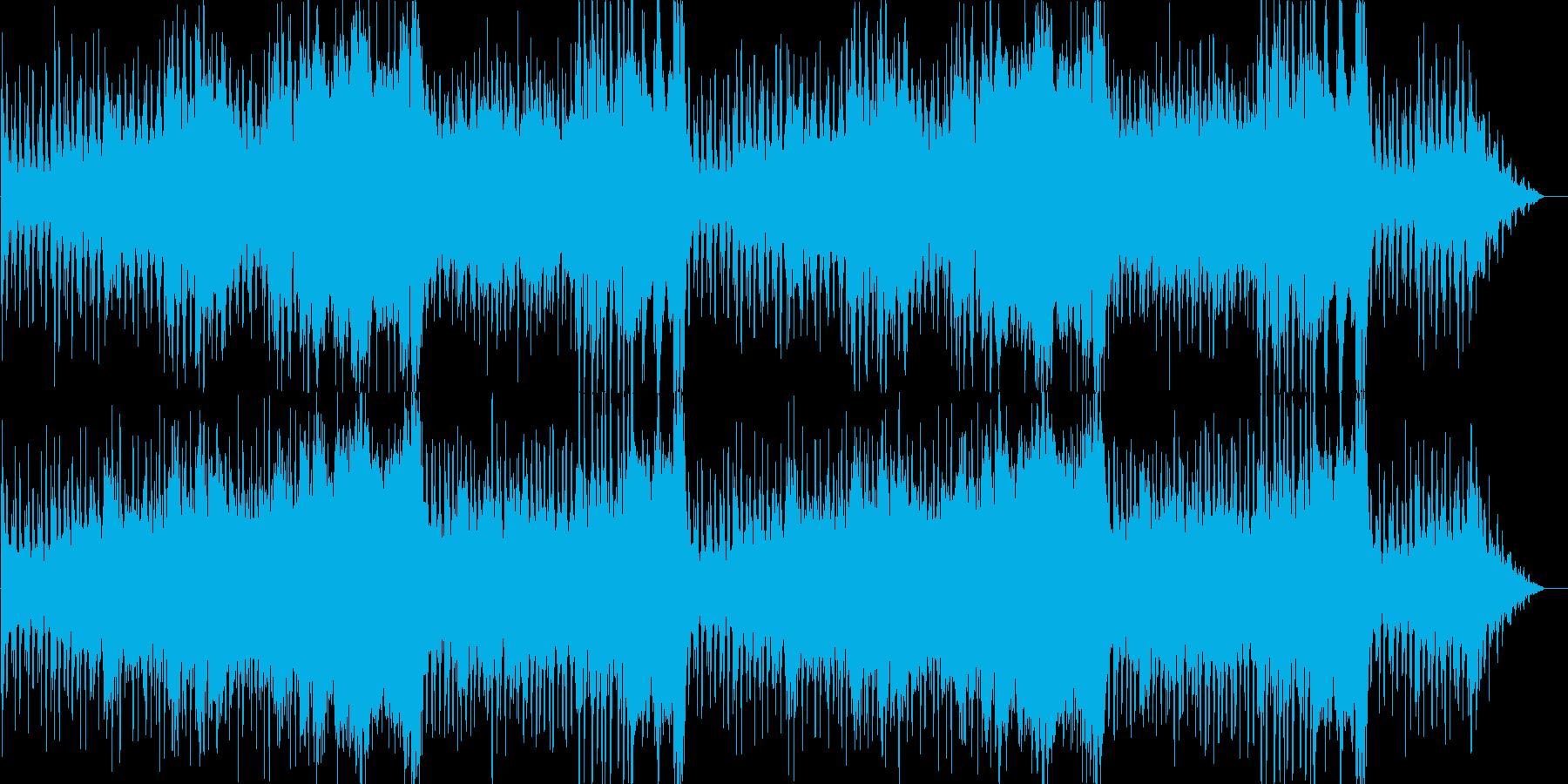 ゲーム用素材/ダンジョン・山道の再生済みの波形