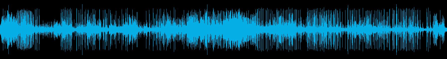 締め付けるの再生済みの波形