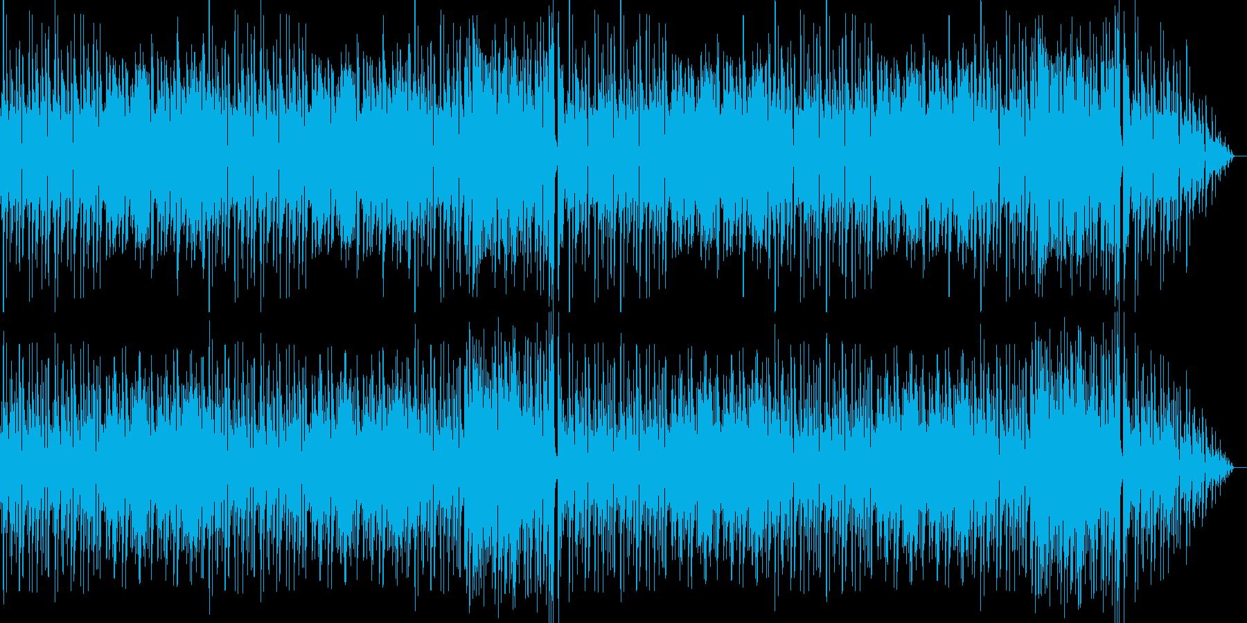 アコースティックで穏やかなポップスの再生済みの波形