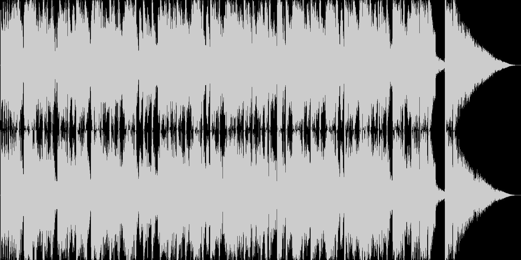 アシッドジャズ風おしゃれな30秒CM楽曲の未再生の波形