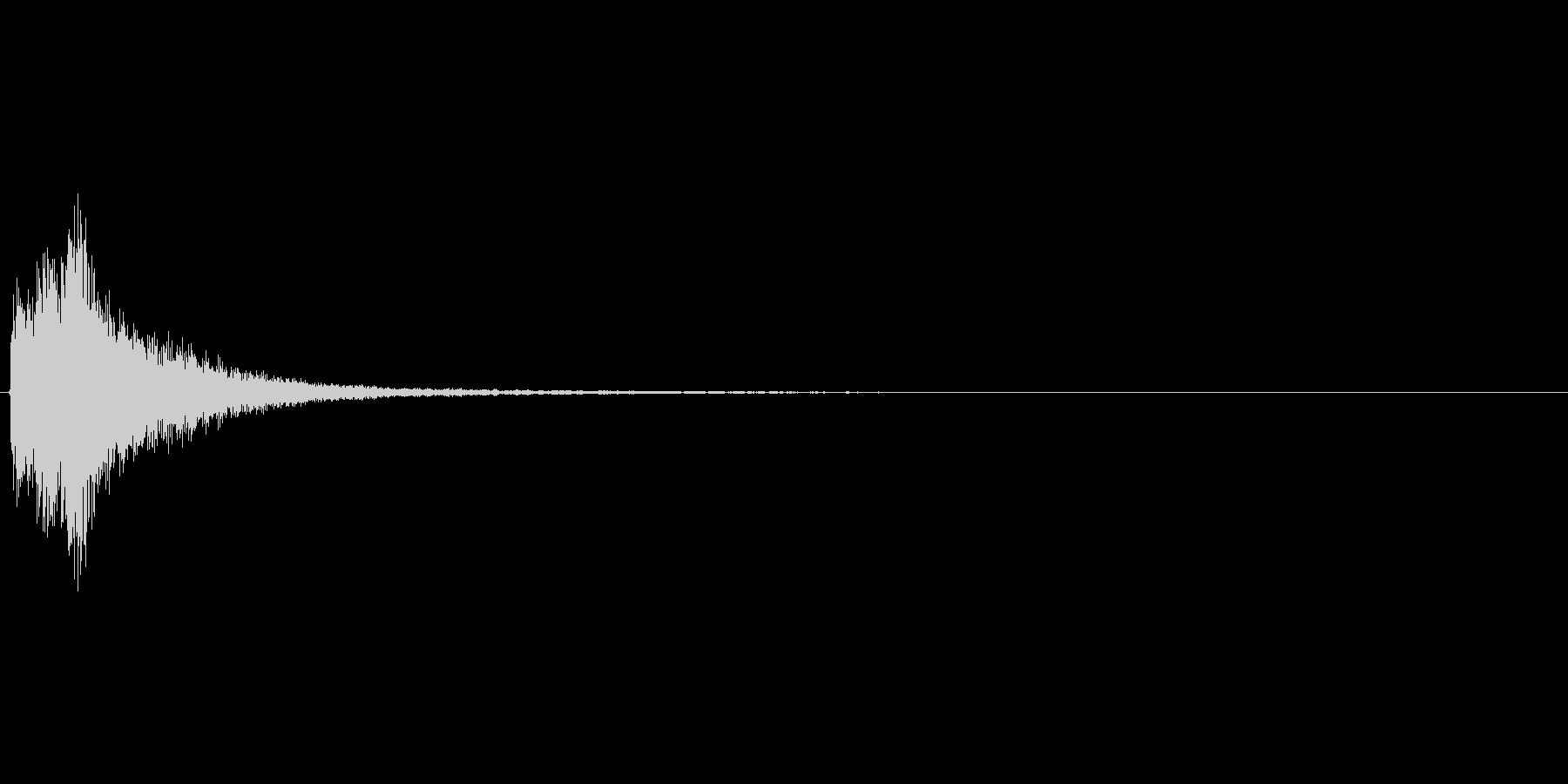 ピロロンというかわいらしいアイテム使用…の未再生の波形