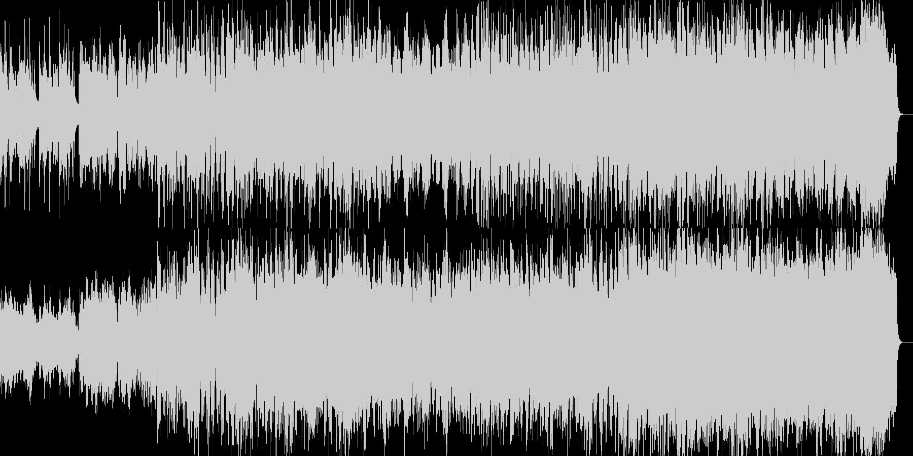 琴が悲しく響く民族系のBGMの未再生の波形