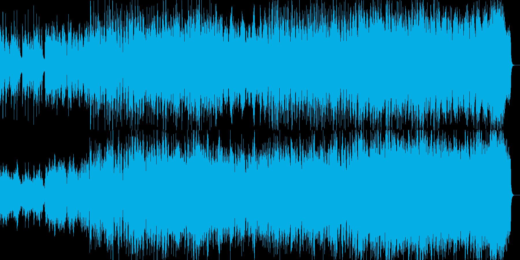 琴が悲しく響く民族系のBGMの再生済みの波形