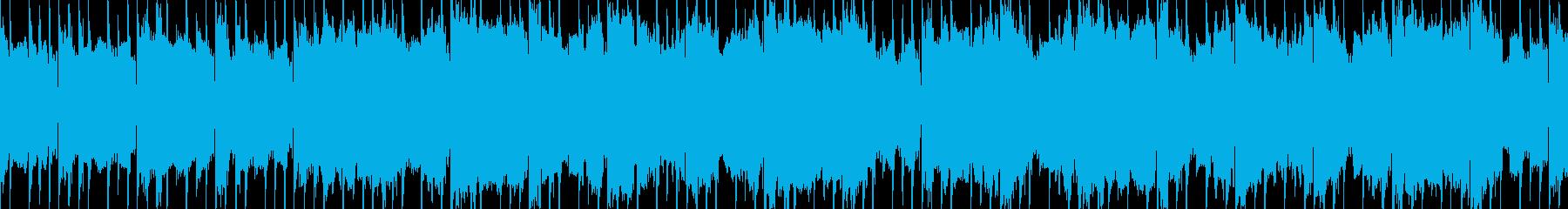 ループ素材 何か始まる・期待感・ほのぼのの再生済みの波形
