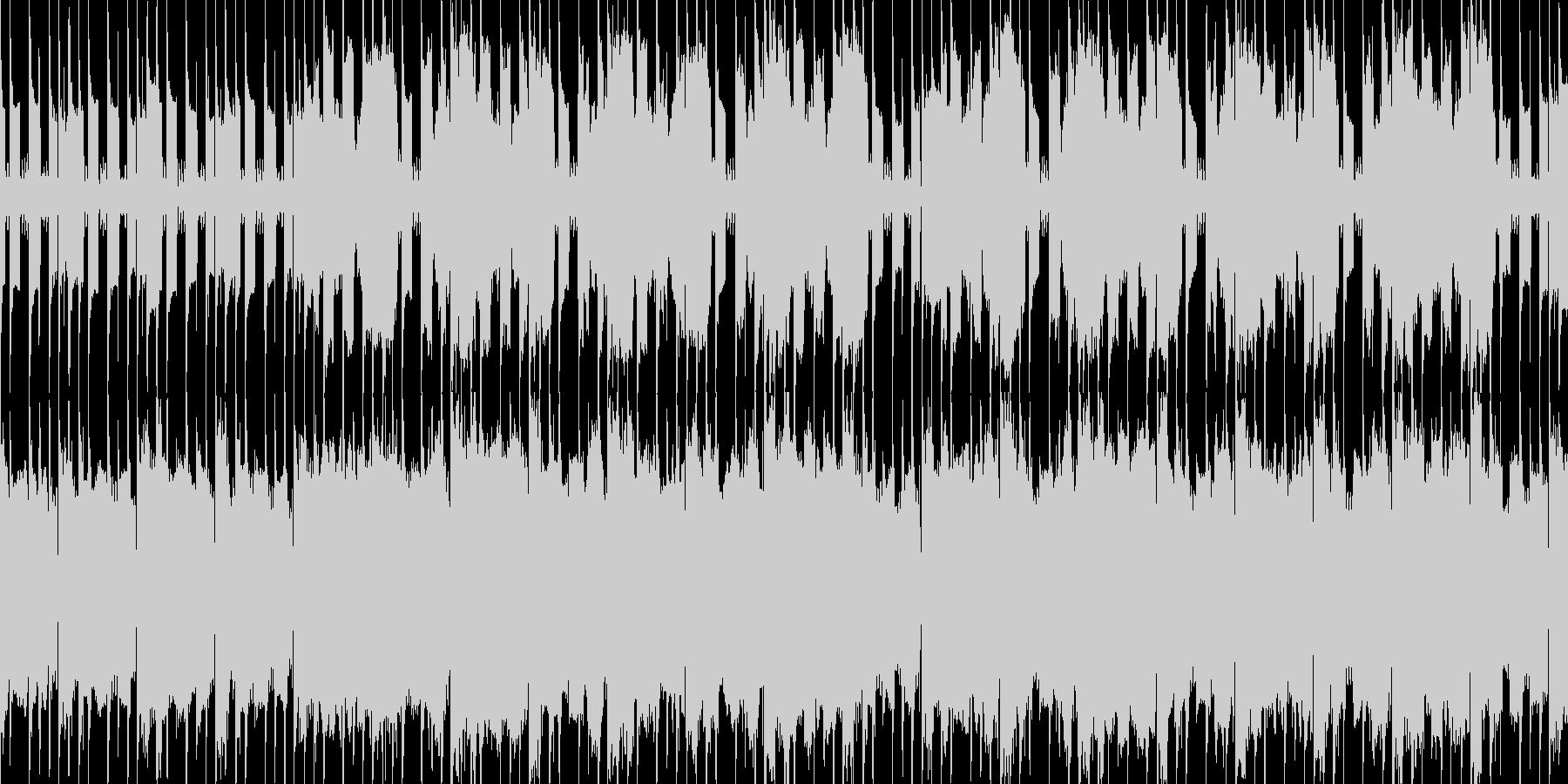 ループ素材 何か始まる・期待感・ほのぼのの未再生の波形