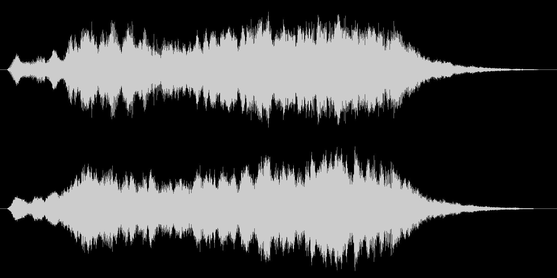 パソコンの起動音風パッドの未再生の波形
