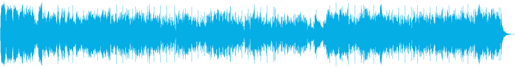 まったりなだらかなリラクゼーションBGMの再生済みの波形