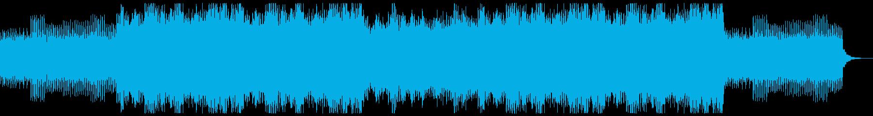 明るく希望的なオーケストラとオルゴールの再生済みの波形
