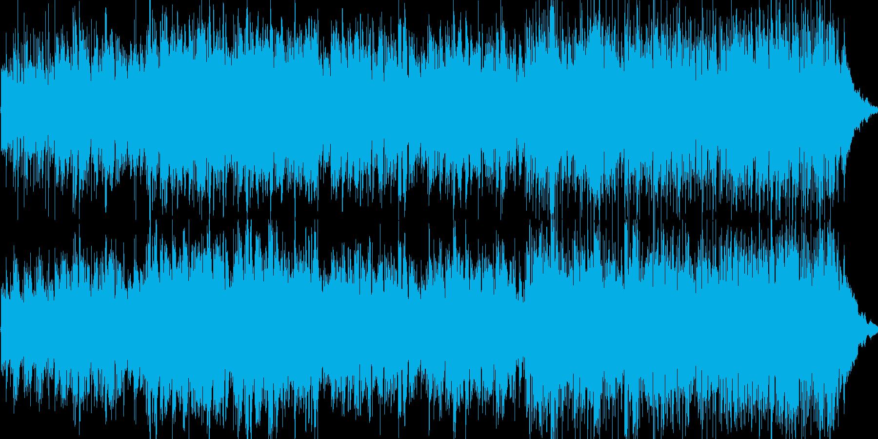 VPに最適なBGMの再生済みの波形