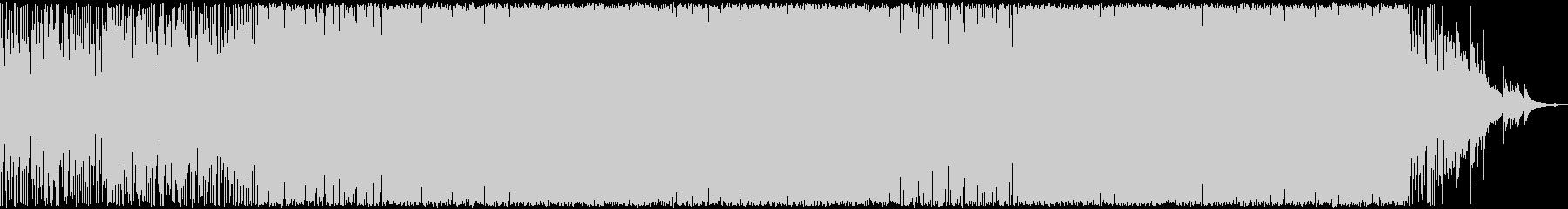 メロディックハードトランスの未再生の波形