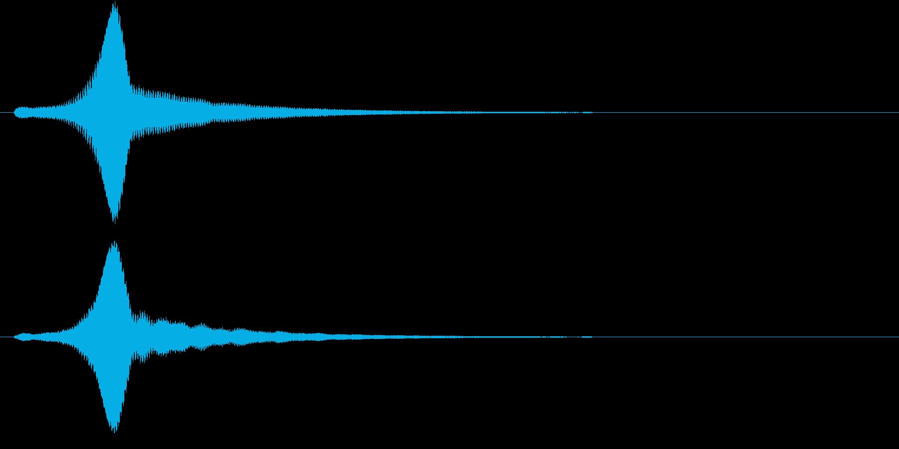 チュオンの再生済みの波形