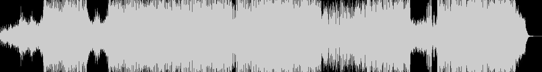 雪の草原をイメージしたドラムんベースの未再生の波形
