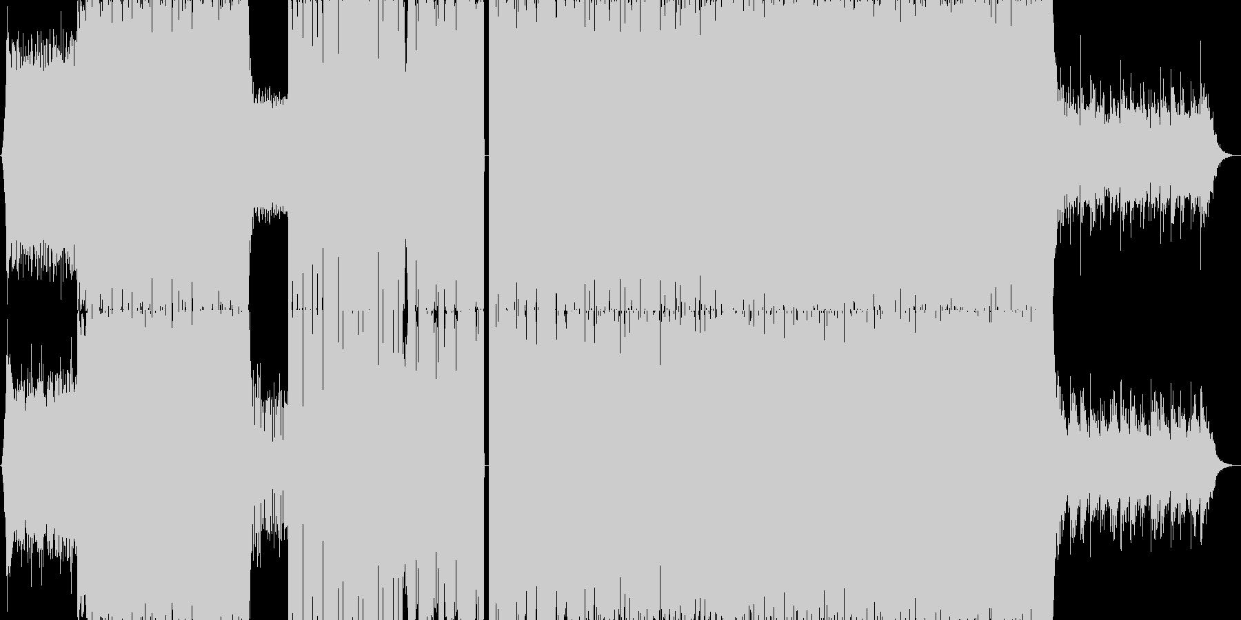 【イベント】疾走感のあるドラムン・ベースの未再生の波形