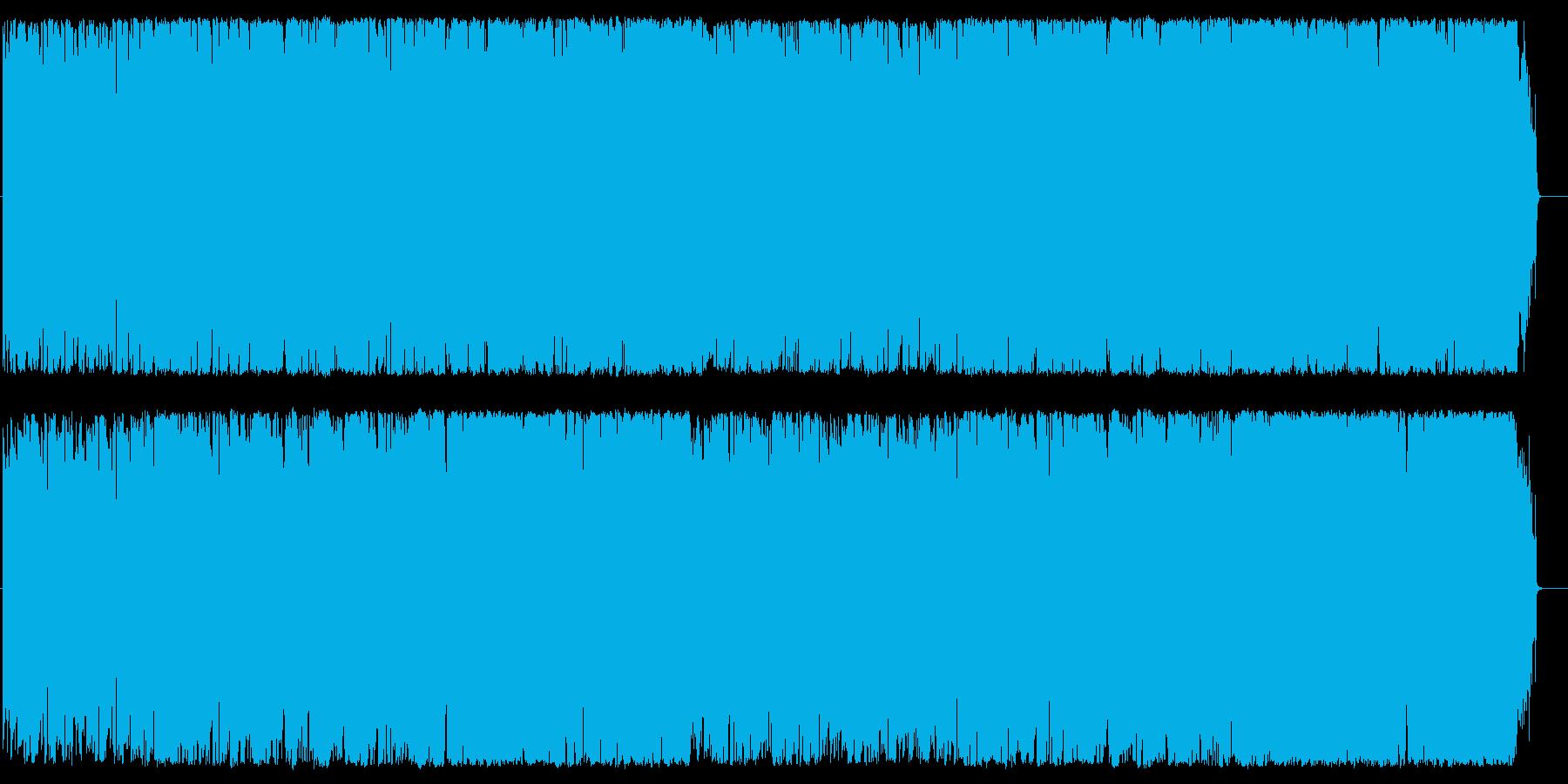 ミセス ティータイム ショッピング 情報の再生済みの波形