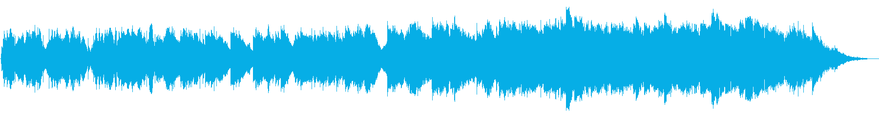 チェロ&オーボエのほのぼのしたBGMの再生済みの波形