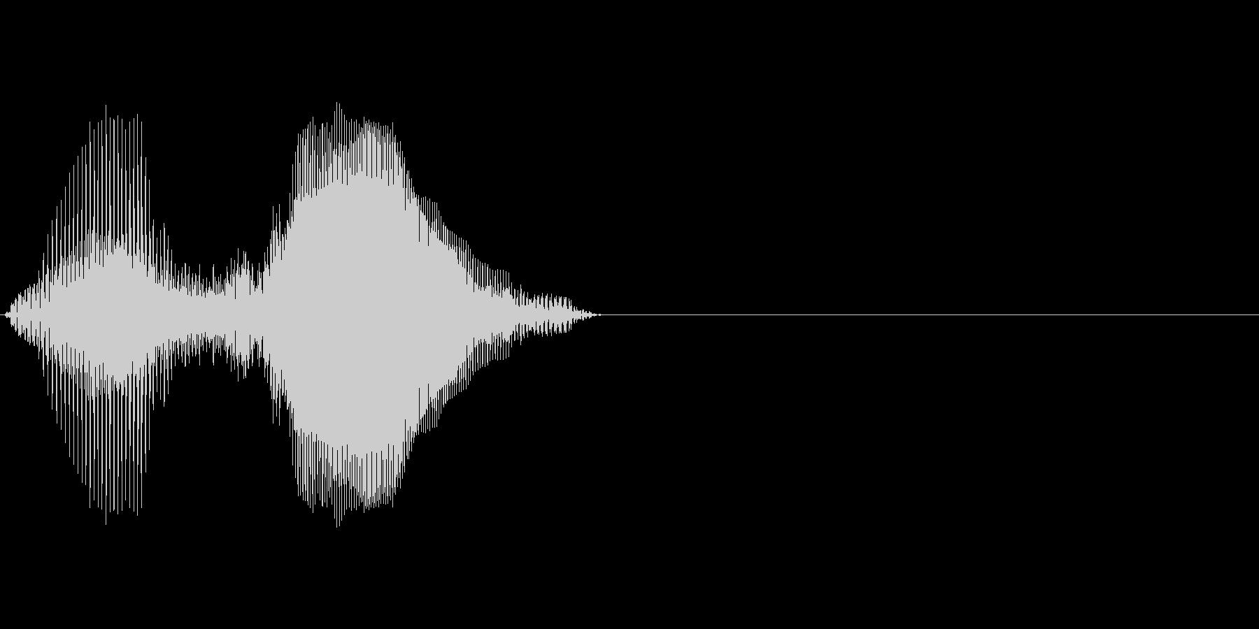 日本(にほん)の未再生の波形