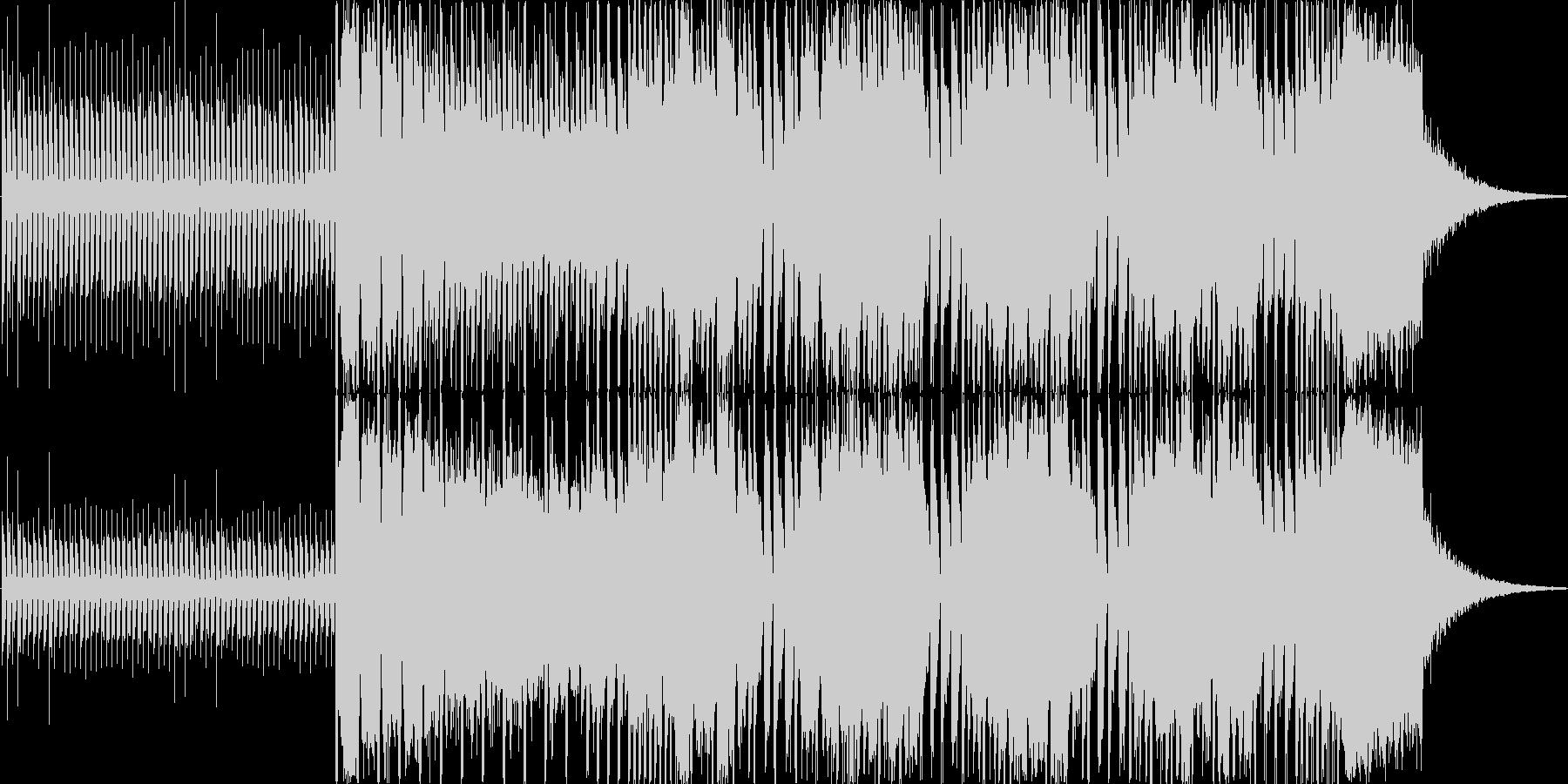 登場、オープニングシーンの未再生の波形