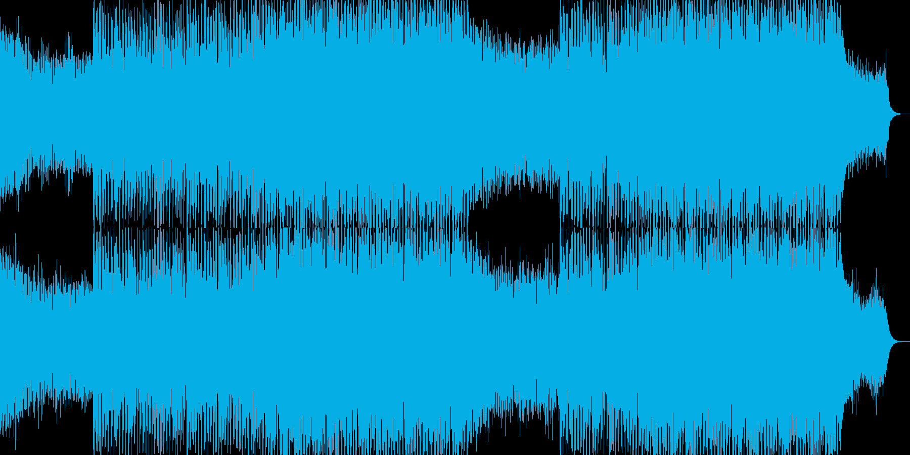 EDMクラブ系ダンスミュージック-81の再生済みの波形