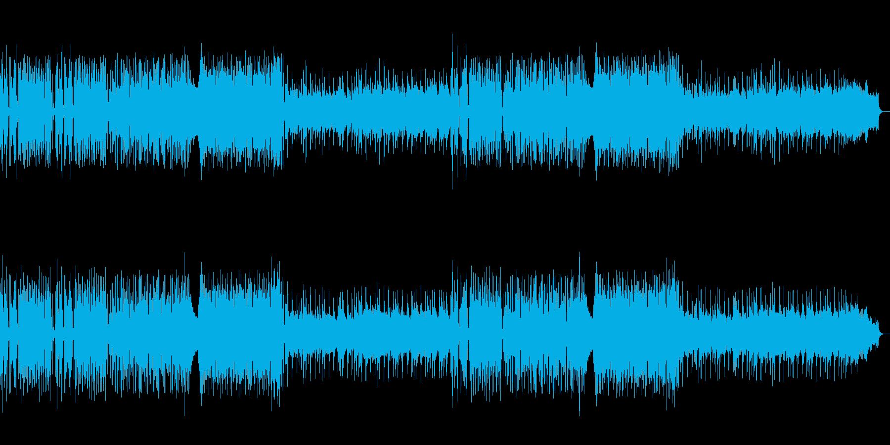 企業VP♪レトロ風ピアノ曲カット版ありの再生済みの波形