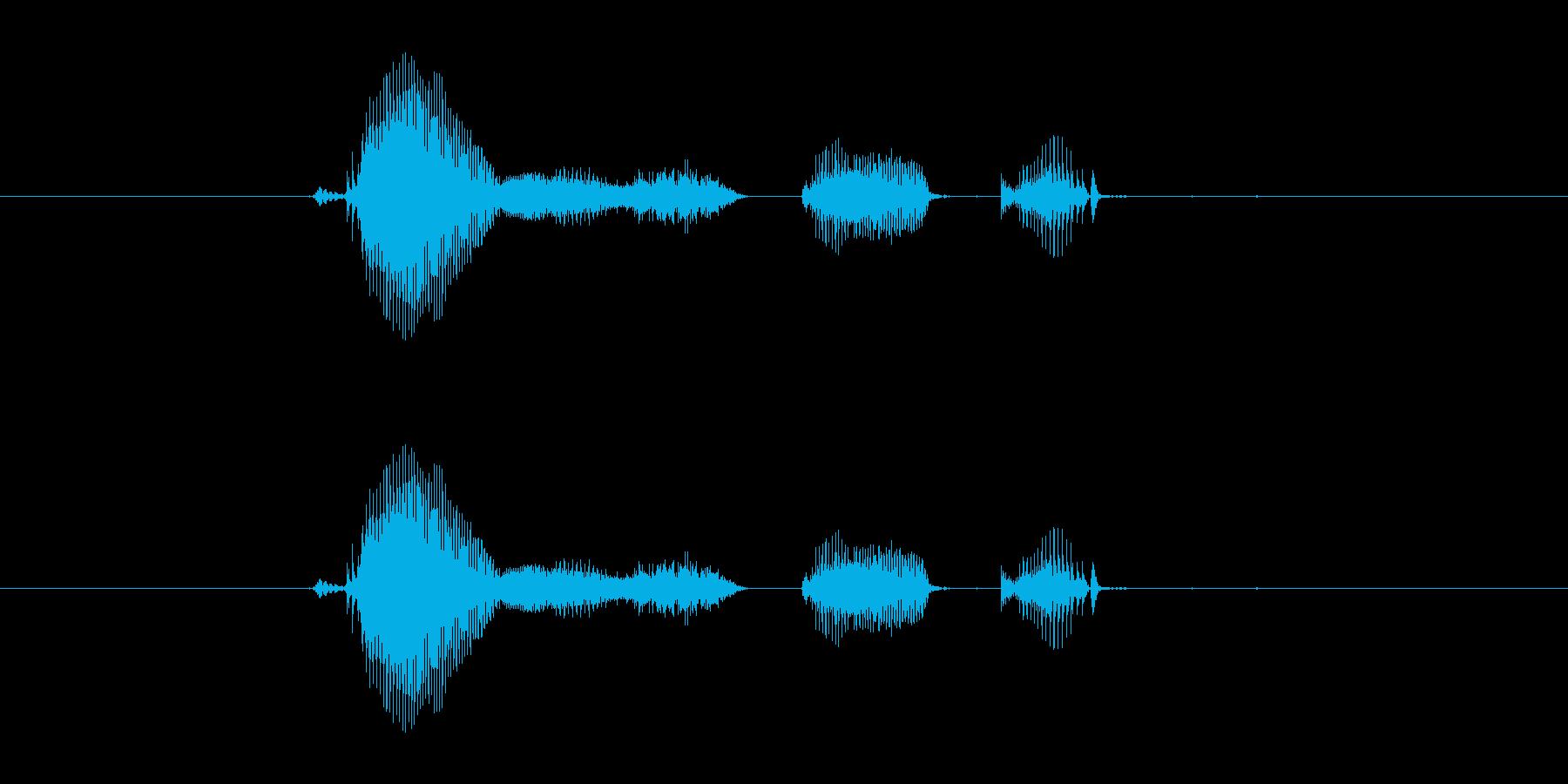 【システム】ゲームスタートの再生済みの波形