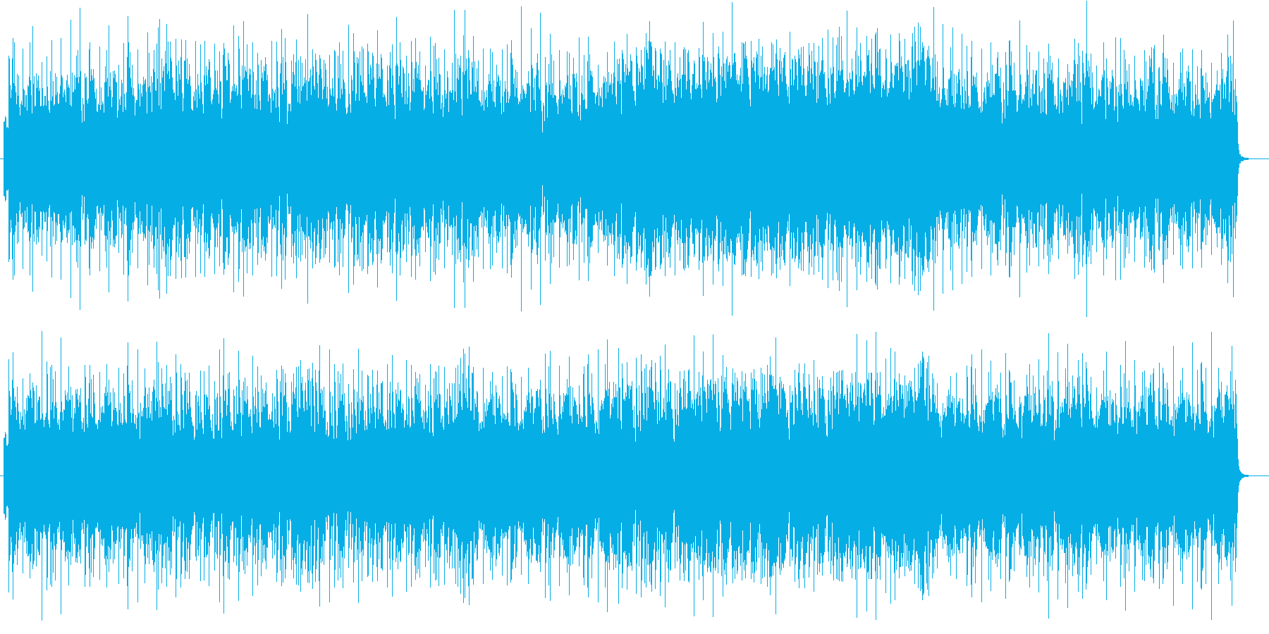 軽快で爽やかなピアノサウンドの再生済みの波形