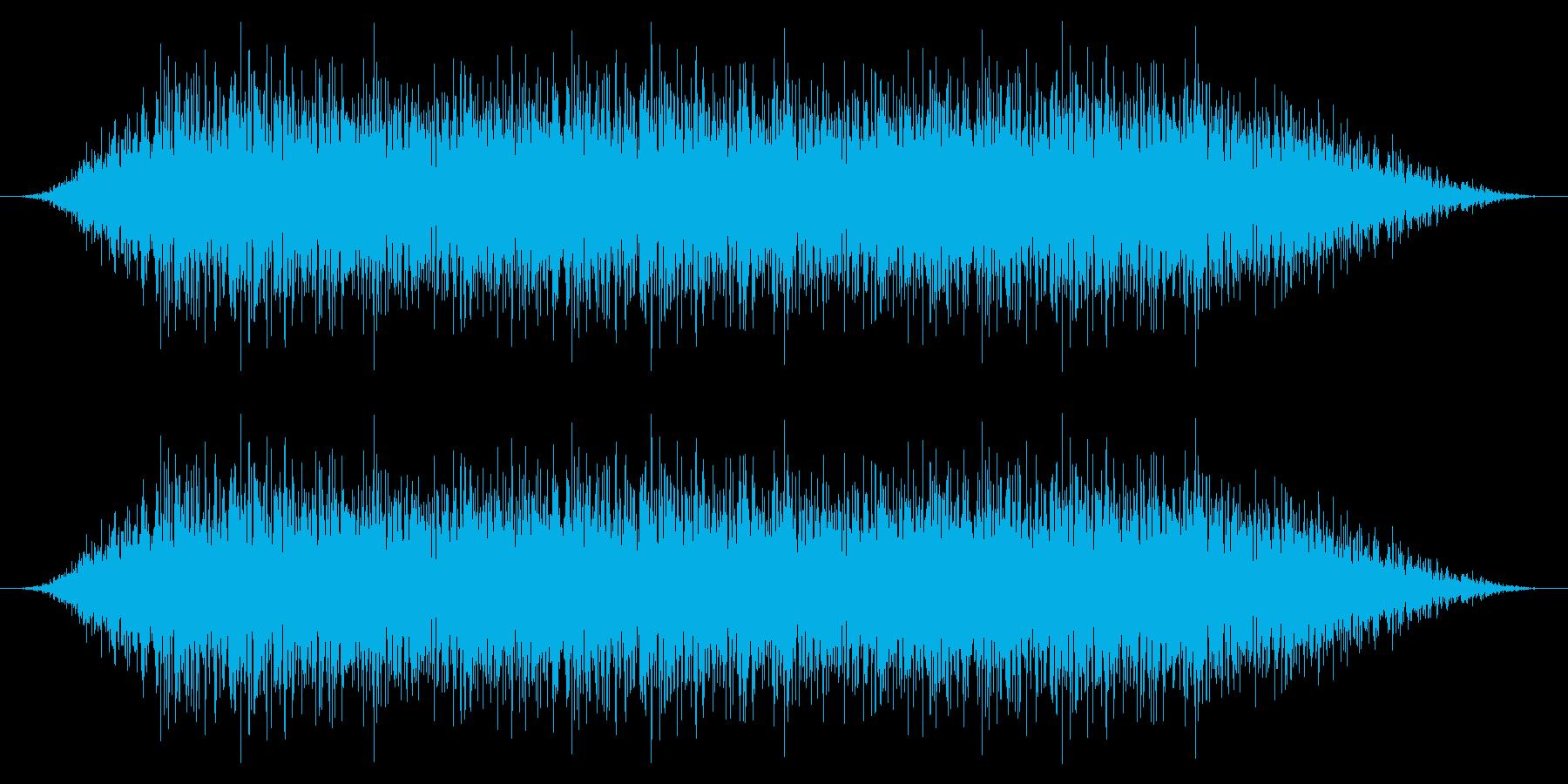 SNES サッカー01-10(歓声)の再生済みの波形